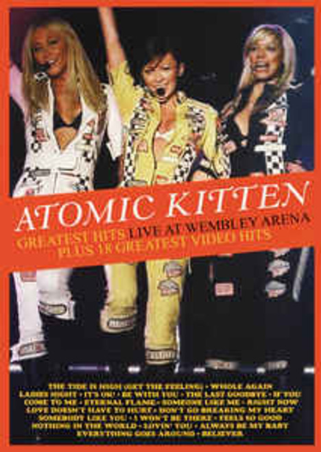 Atomic Kitten – Greatest Hits Live At Wembley Arena Plus 18 Greatest Video Hits - DVD *NEW*