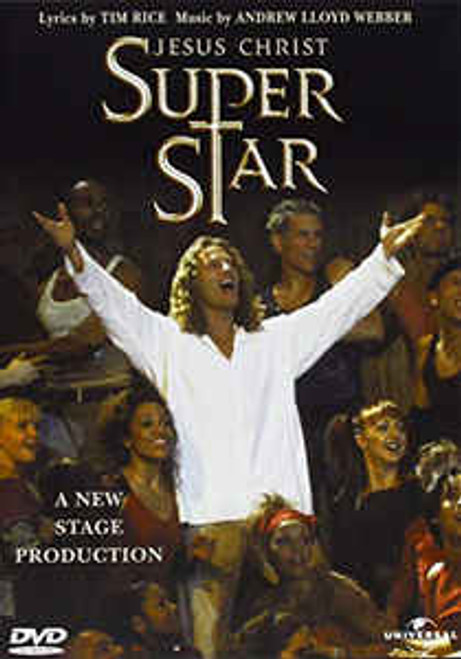 Andrew Lloyd Webber & Tim Rice – Jesus Christ Superstar (A New Stage Production) - DVD *NEW*