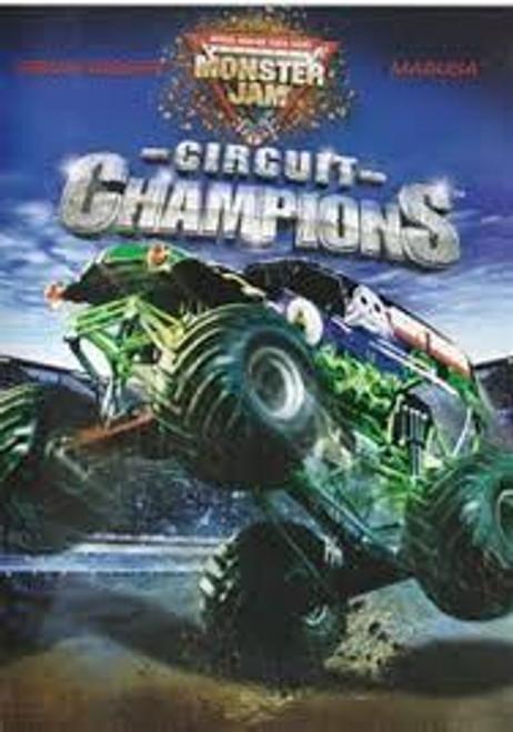 Hot Wheels - Monster Jam Circuit Champions - DVD *NEW*