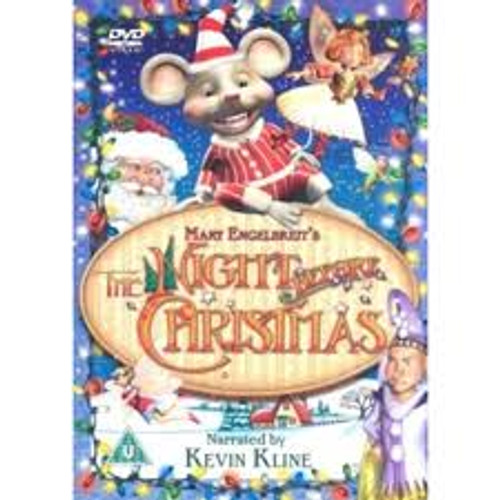 Mary Engelbreit's The Night Before Christmas - DVD *NEW*