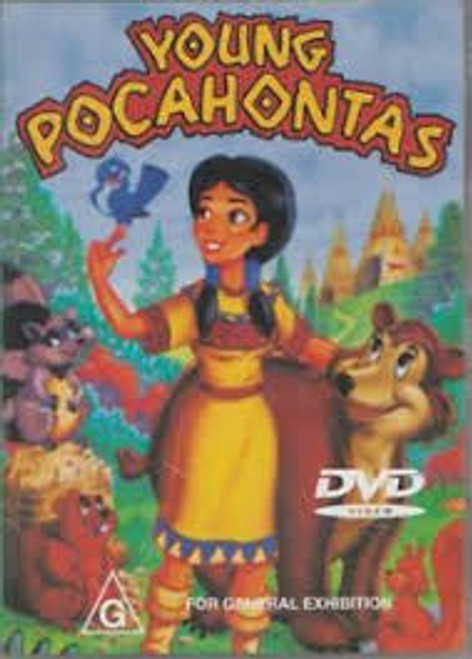 Young Pocahontas - DVD *NEW*