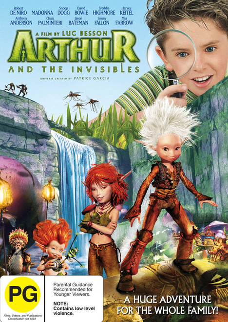 Arthur And The Invisibles - DVD *NEW*