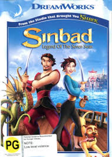 Sinbad - Legend Of The Seven Seas - DVD *NEW*