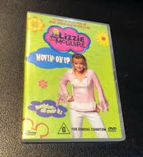 Lizzie McGuire - Movin' On Up : Vol 7 - DVD *NEW*