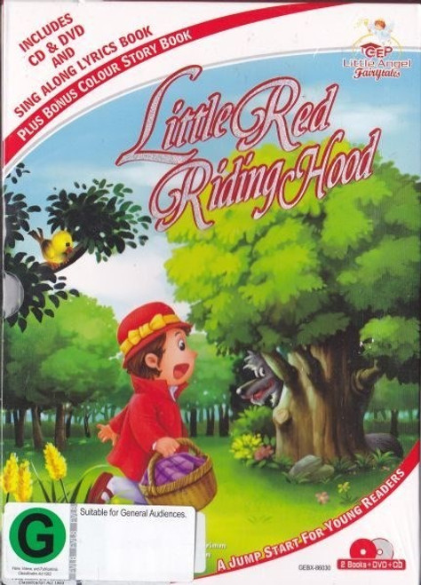 Little Red Riding Hood With 8 Favourite Childrens Songs - DVD/CD *NEW*