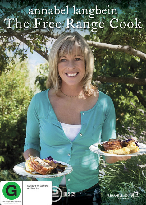 Annabel Langbein: The Free Range Cook - 2DVD *NEW*