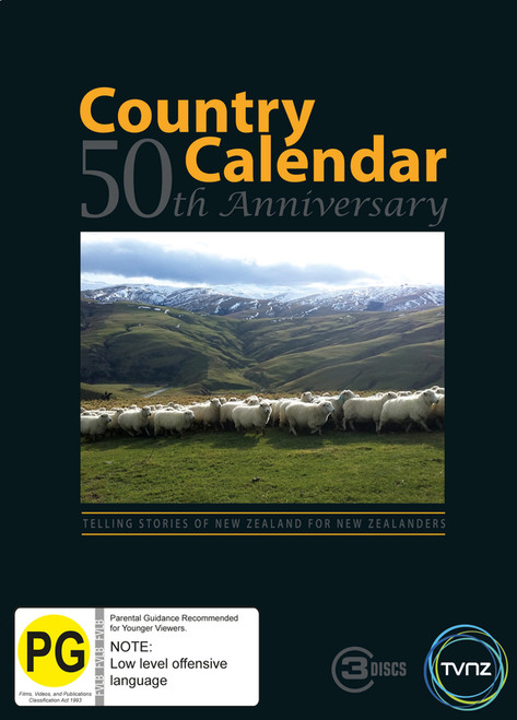 Country Calendar - 50th Anniversary - 3DVD *NEW*