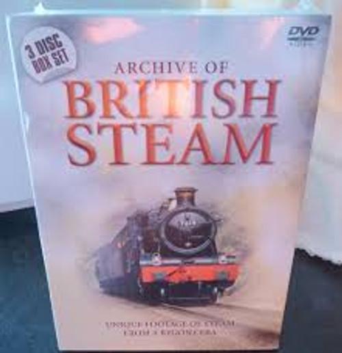 Archive Of British Steam - 3DVD *NEW*