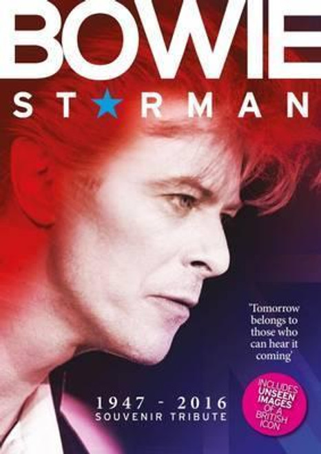 Bowie - Starman - BOOK *USED*