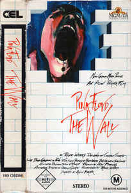 Pink Floyd ‎– The Wall - VHS *USED*