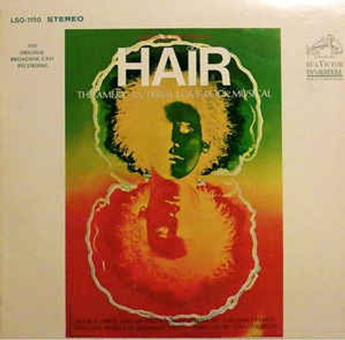 Hair - The American Tribal Love-Rock Musical (The Original Broadway Cast Recording) (US) - LP *USED*