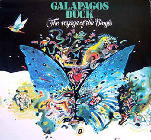 Galapagos Duck – The Voyage Of The Beagle (AU) - LP *USED*