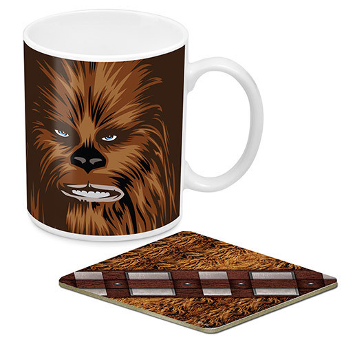 Star Wars Chewbacca Mug And Coaster Pack *NEW*