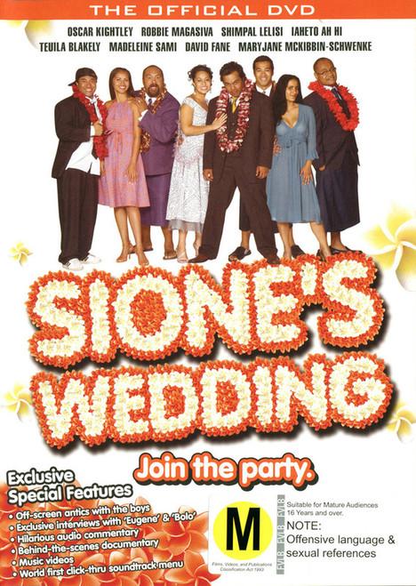 Sione's Wedding - DVD *NEW*