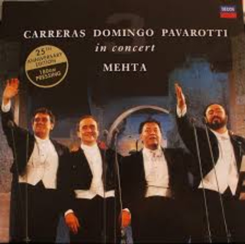 PAVAROTTI / DOMINGO / CARRERAS / MEHTA - Three Tenors 25th Anniversary - 2LP *NEW*