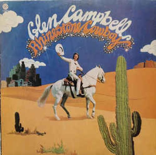 Glen Campbell – Rhinestone Cowboy (AU) - LP *USED*