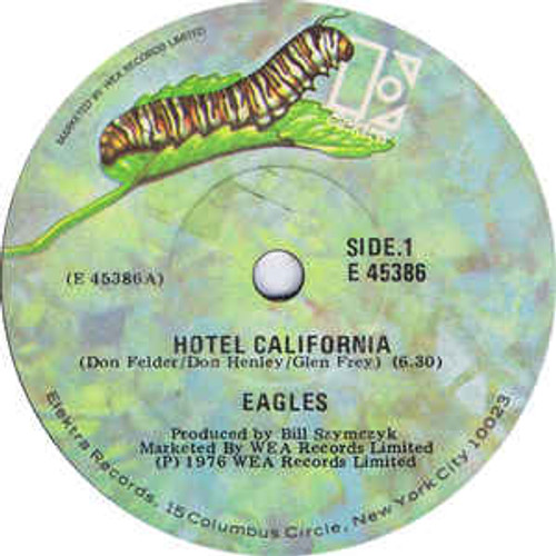 "Eagles ‎– Hotel California - 7"" *USED*"