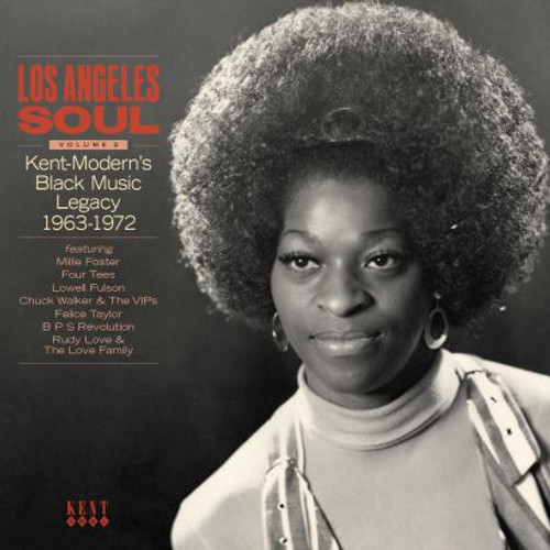 Los Angeles Soul Vol2 kent-Modern's Black Tracks 1963-1971 - Various - CD *NEW*