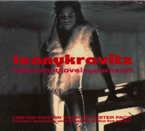 Lenny Kravitz – Is There Any Love In Your Heart - CDEP *USED*