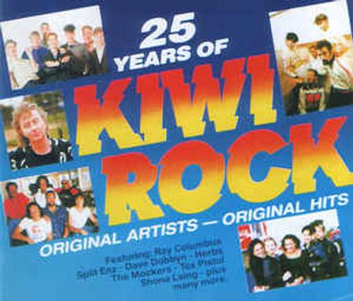 25 Years Of Kiwi Rock - Various - 2CD *USED*