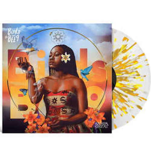 Sampa The Great – Birds And The Bee9  (Limited Edition, Repress, Clear With Gold, Yellow and Orange Splatter. - LP *NEW*