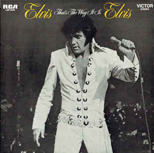 Elvis Presley ‎– That's The Way It Is (NZ) - LP *USED*