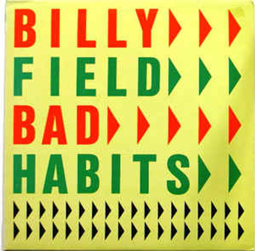 Billy Field ‎– Bad Habits (NZ) - LP *USED*