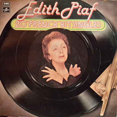 "Edith Piaf ‎– 20 ""French"" Hit Singles (UK) - LP *USED*"