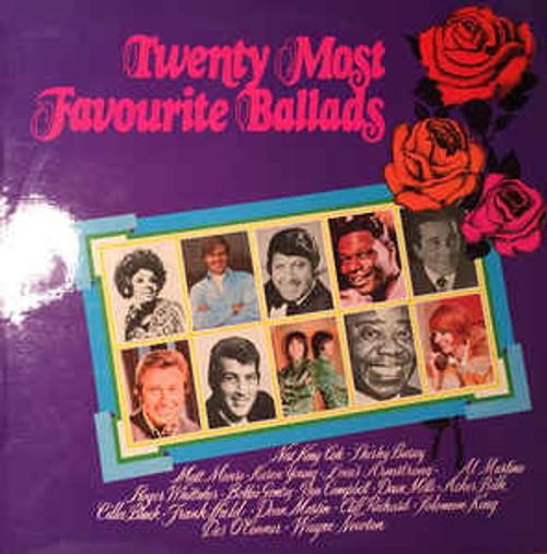 Twenty Most Favourite Ballads - Various (NZ) - LP *USED*