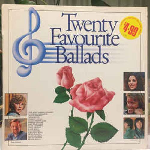 Twenty Favourite Ballads - Various (NZ) - LP *USED*