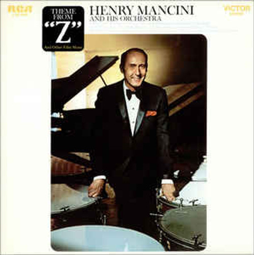"Henry Mancini And His Orchestra ‎– Theme From ""Z"" And Other Film Music (US) - LP *USED*"