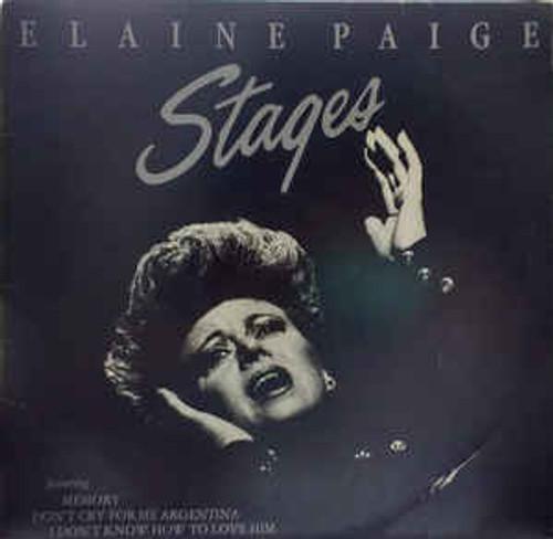 Elaine Paige – Stages (NZ) - LP *USED*