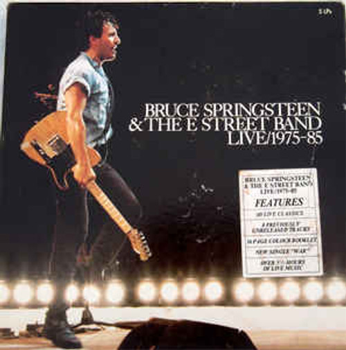 Bruce Springsteen & The E-Street Band – Live 1975-85 (AU) - 5LP *USED*