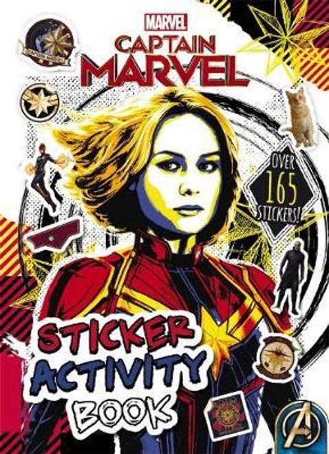 Marvel: Captain Marvel Sticker Activity Book - BOOK *NEW*