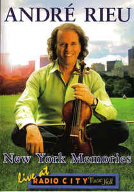 André Rieu – New York Memories (Live At Radio City Music Hall) - DVD *NEW*