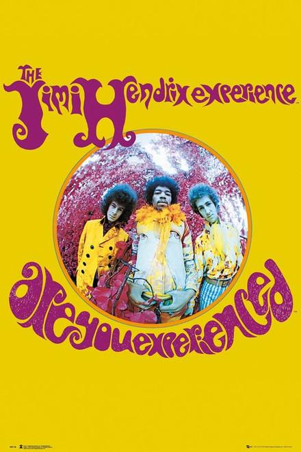 Jimi Hendrix - Experience - MAXI POSTER FRAMED  *NEW*