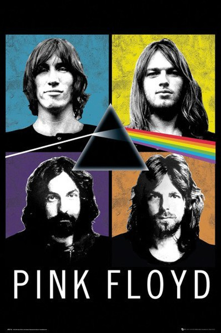 Pink Floyd - Faces - MAXI POSTER FRAMED *NEW*