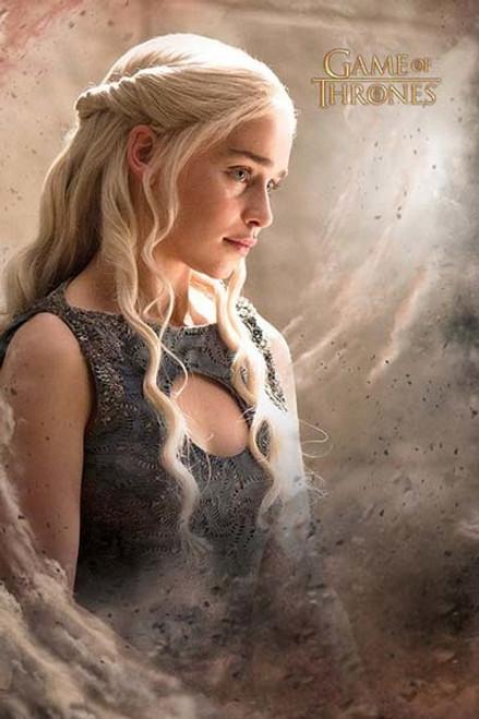 Game Of Thrones - Daenarys - MAXI POSTER FRAMED *NEW*