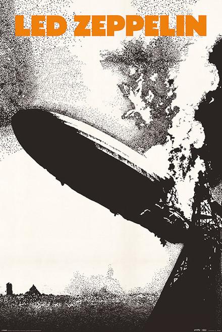 Led Zeppelin I MAXI POSTER FRAMED *NEW*