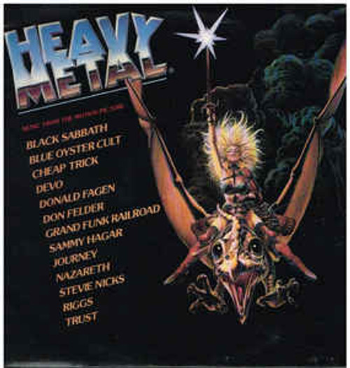 Heavy Metal - Music From The Motion Picture - Soundtrack (NZ) - 2LP *USED*