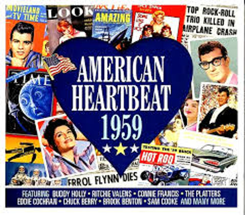 American Heartbeat 1959 - Various - 2CD *NEW*