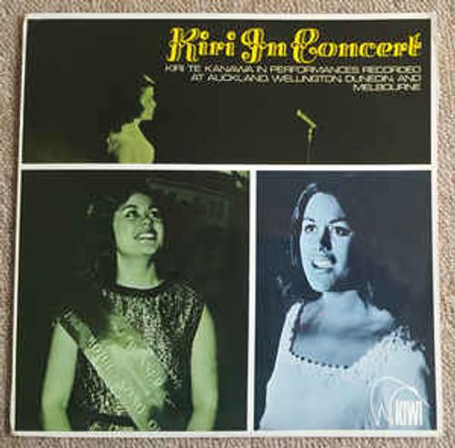 Kiri Te Kanawa (1) – Kiri In Concert (NZ) - LP *USED*