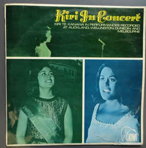 Kiri Te Kanawa (2) – Kiri In Concert (NZ) - LP *USED*