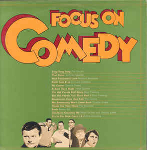 Focus On Comedy (NZ) - Various - LP *USED*