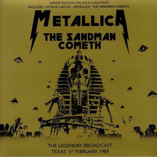 Metallica - The Sandman Cometh (INCA GOLD VINYL) - LP/MAG *NEW*