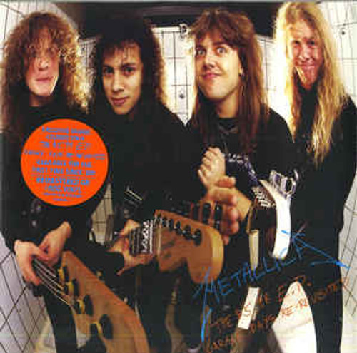 Metallica ‎– The $5.98 E.P. - Garage Days Re-Revisited (Orange Translucent Vinyl) - LP *NEW*