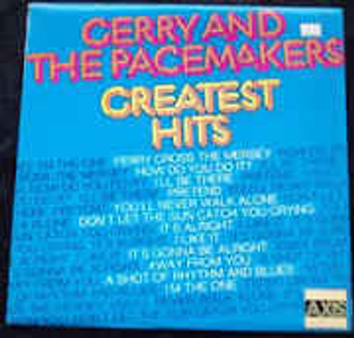 Gerry & The Pacemakers – Greatest Hits (NZ) - LP *USED*