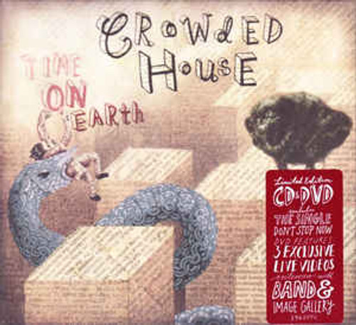 Crowded House – Time On Earth - CD/DVD *NEW*