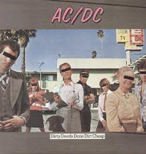 AC/DC ‎– Dirty Deeds Done Dirt Cheap - LP *NEW*