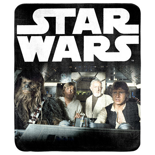 Star Wars Group Character Throw - *NEW*